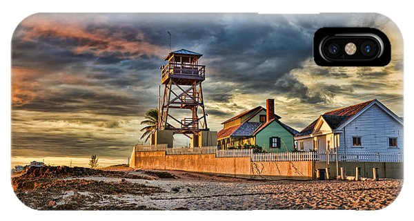 Sunrise Over The House Of Refuge On Hutchinson Island IPhone Case