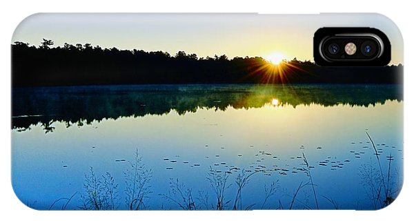Sunrise Over The Lake IPhone Case
