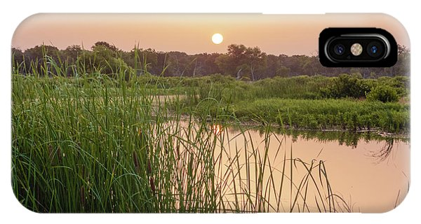 Sunrise Over The Marsh IPhone Case