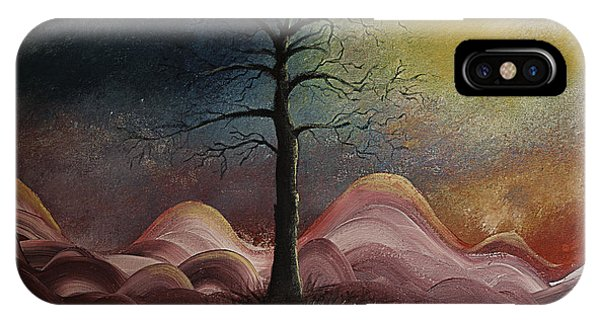 Sunrise Over The Mountains IPhone Case