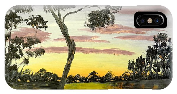 Sunrise Over The Murray River At Lowson South Australia IPhone Case