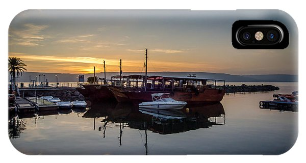 Sunrise Over The Sea Of Galilee IPhone Case