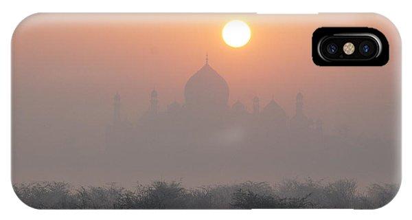 Sunrise Over The Taj IPhone Case