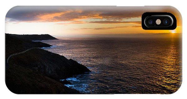 Sunrise Over The Wales Coast Path IPhone Case