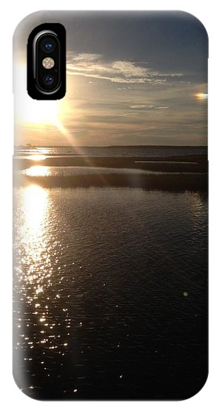 Sunset Over Ocean City IPhone Case