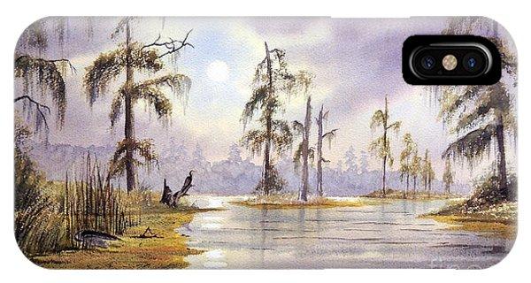 Wakulla iPhone Case - Sunrise Over Wakulla River by Bill Holkham