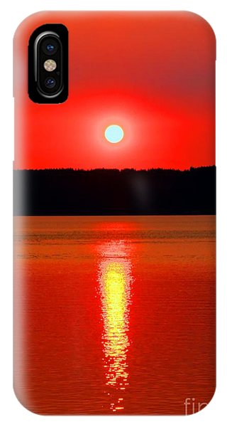 Port Townsend iPhone Case - Sunrise Over Whidbey Island by Tap On Photo