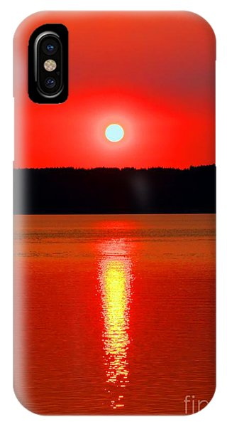 Sunrise Over Whidbey Island IPhone Case