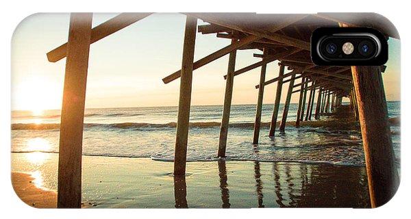 Sunrise Pier IPhone Case