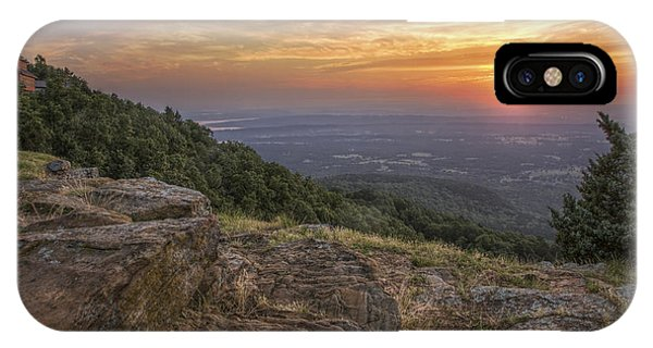 Sunrise Point From Mt. Nebo - Arkansas IPhone Case