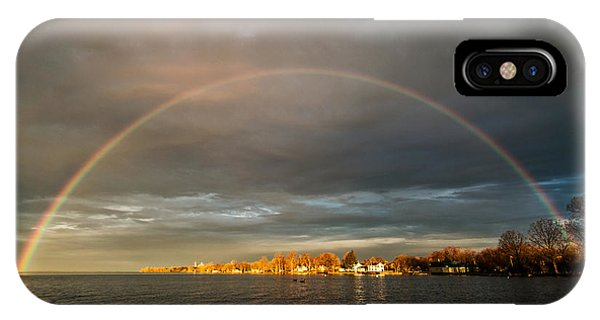 Sunrise Rainbow IPhone Case