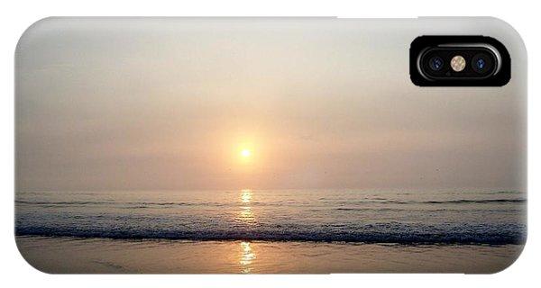 Sunrise Reflection Shines Upon The Atlantic IPhone Case