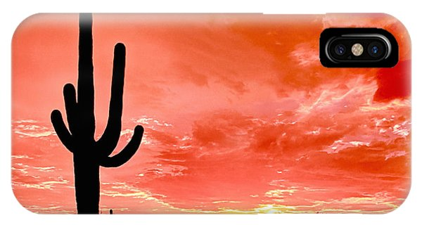 Sunrise Saguaro National Park IPhone Case