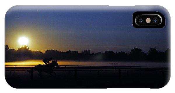 iPhone Case - Sunrise Saratoga by George Fredericks