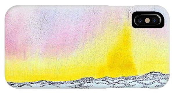 Sunrise-sunset IPhone Case
