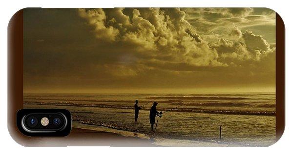 Sunrise Surf Fishing IPhone Case