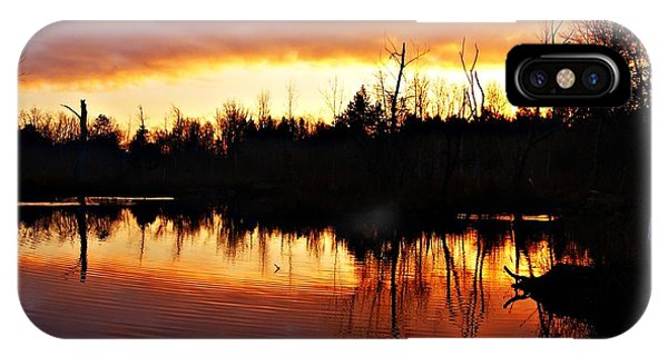 Sunrise Thanksgiving Morning IPhone Case