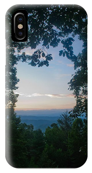Sunrise Through The Trees IPhone Case