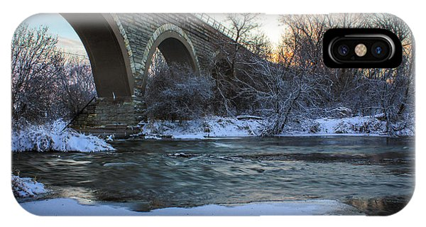 Sunrise Under The Bridge IPhone Case