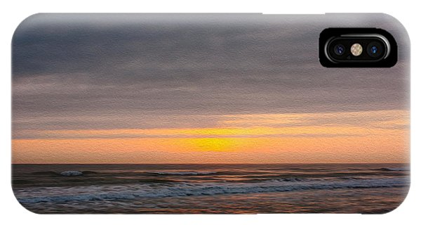 Sunrise Under The Clouds IPhone Case