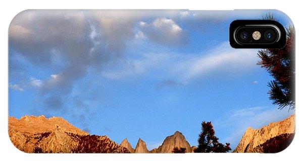 Sunrise Whitney Portal IPhone Case