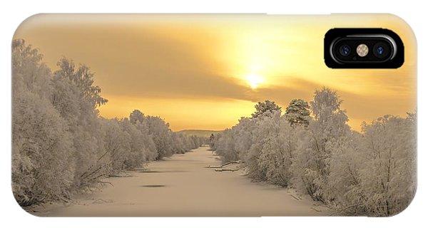 Sunrise With Joy IPhone Case