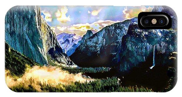 Sunrise Yosemite Valley Nationalpark IPhone Case