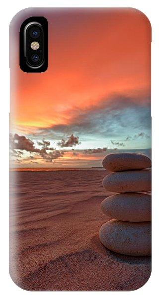 Sunrise Zen IPhone Case