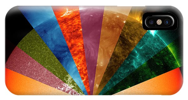 Sun's Surface At Different Wavelengths IPhone Case