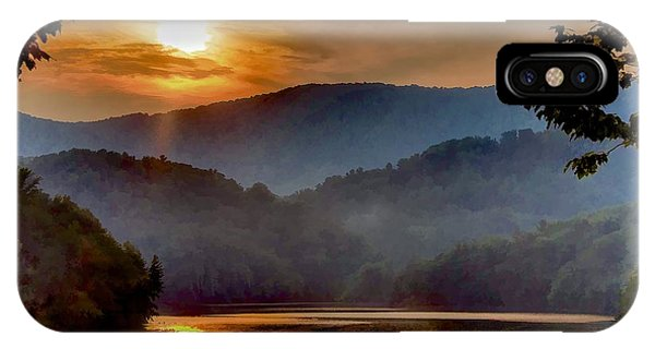 Sunset And Haze IPhone Case