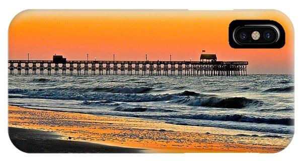 Sunset Apache Pier IPhone Case