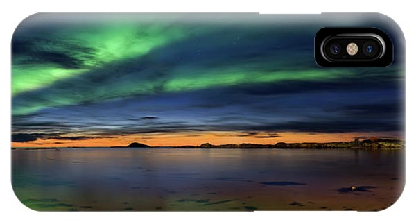 Lighthouse iPhone Case - Sunset At Andenes by Roy Samuelsen