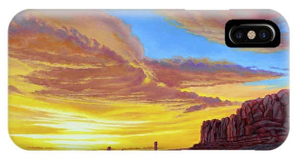 Arched iPhone Case - Sunset At Arches by Paul Krapf