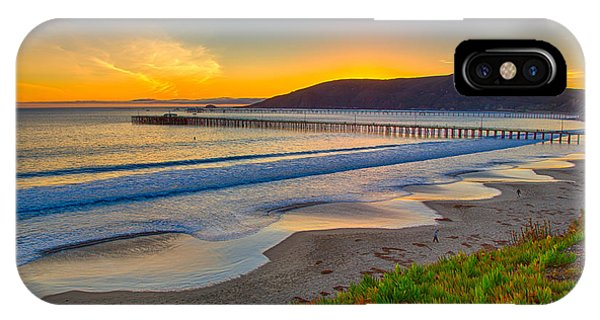 Sunset At Avila Beach IPhone Case