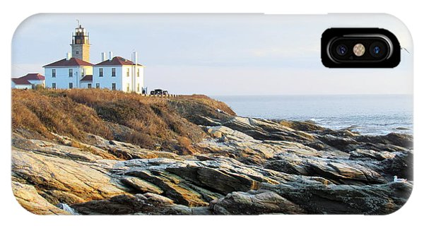 Sunset At Beavertail II IPhone Case