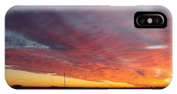 Sunset At Cafe Coconut Cove 6 IPhone Case