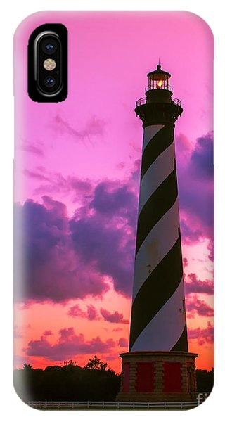 Sunset At Cape Hatteras Vertical  IPhone Case