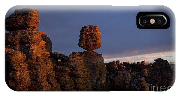 Sunset At Chiricahua IPhone Case