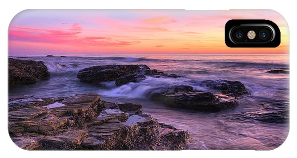 Sunset At Crystal Cove Phone Case by Eddie Yerkish