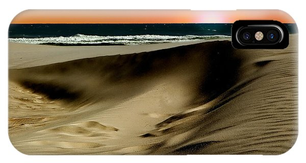 Sunset At Dunes IPhone Case