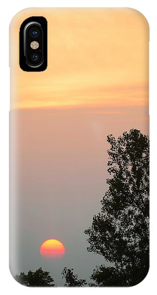 Sunset At Forks Of The Credit Park IPhone Case