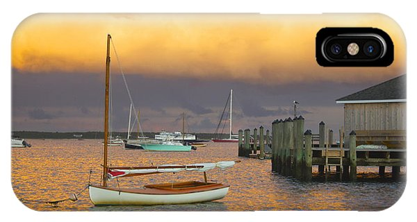 Sunset At Kennedy Compound IPhone Case