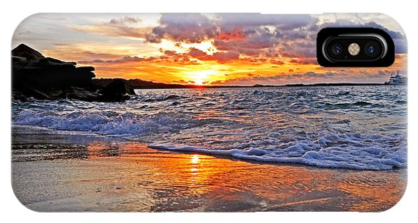 Far North Queensland iPhone Case - Sunset At Kimberly's by Casey Herbert