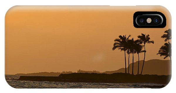 Sunset At Koloa IPhone Case