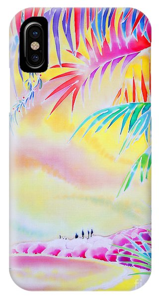 Sunset At Kuto Beach IPhone Case