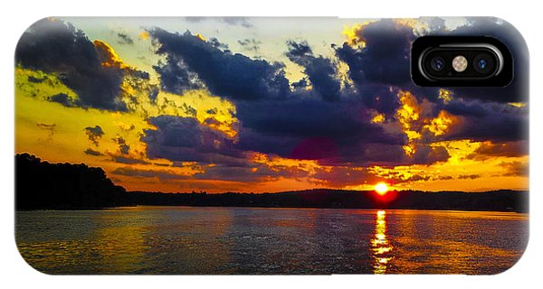 Sunset At Lake Logan Martin IPhone Case