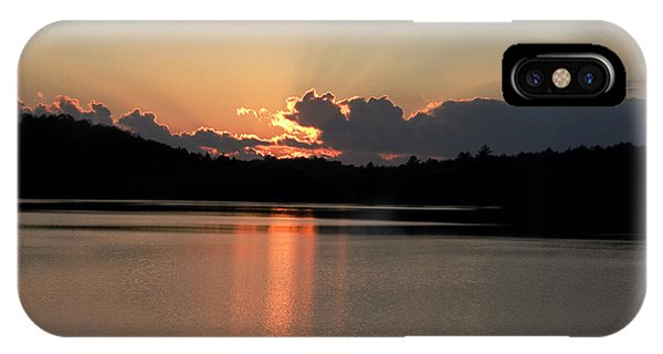 Dorset iPhone Case - Sunset At Lake Of Bays  by Pat Speirs