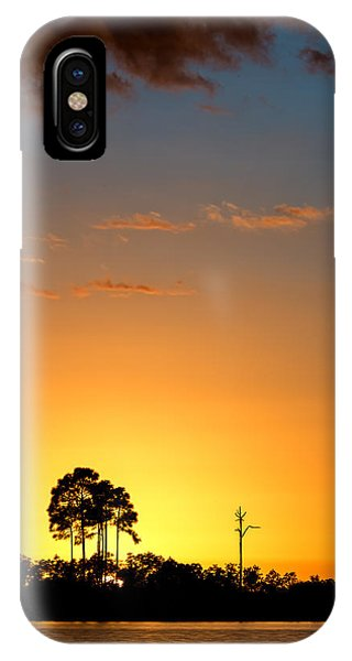 Sunset At Long Pine Key Vertical IPhone Case