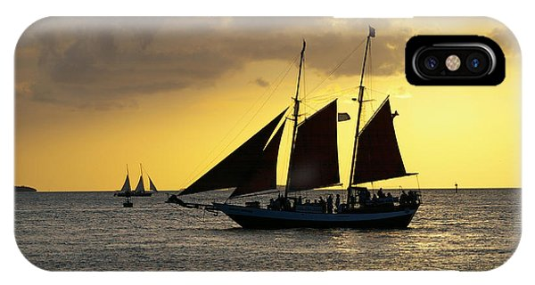 Sunset At Mallory Square II IPhone Case