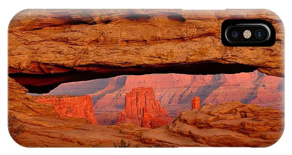 Sunset At Mesa Arch IPhone Case